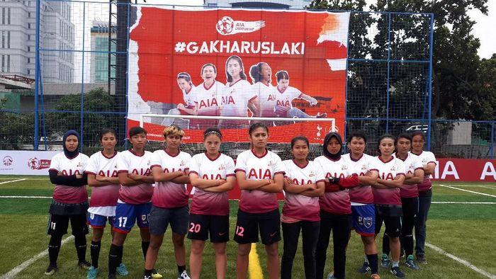 16 pemain putri dikirim ke turnamen AIA di Bangkok Maret mendatang (Mercy Raya/detikSport)