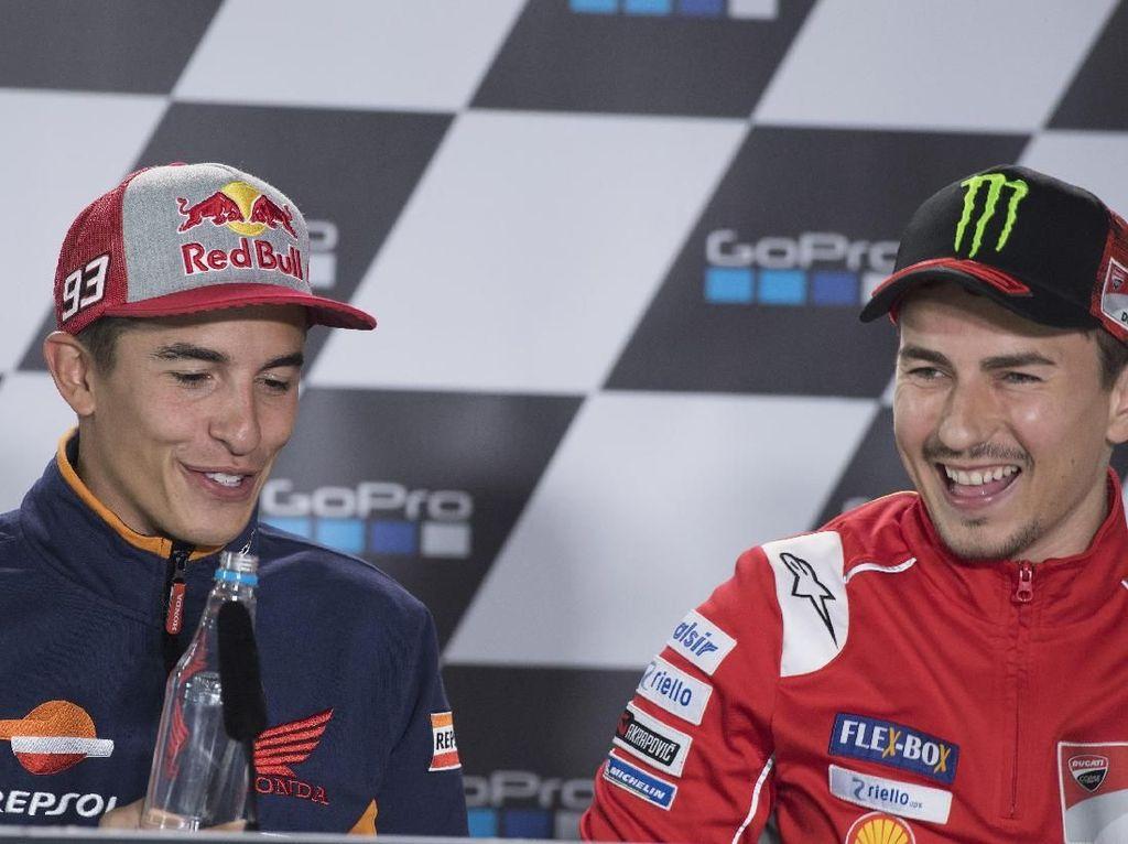 Duet Marquez-Lorenzo Bikin Rossi dan Dovi Penasaran Banget