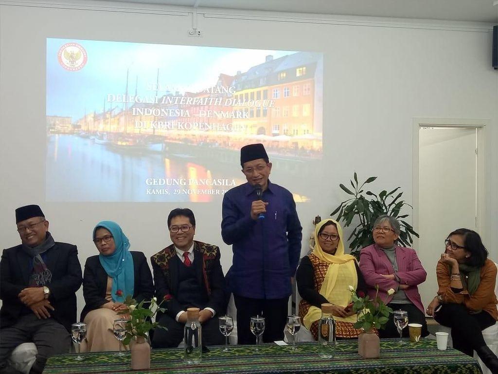Tokoh Lintas Agama Berdialog dengan Diaspora Indonesia di Kopenhagen