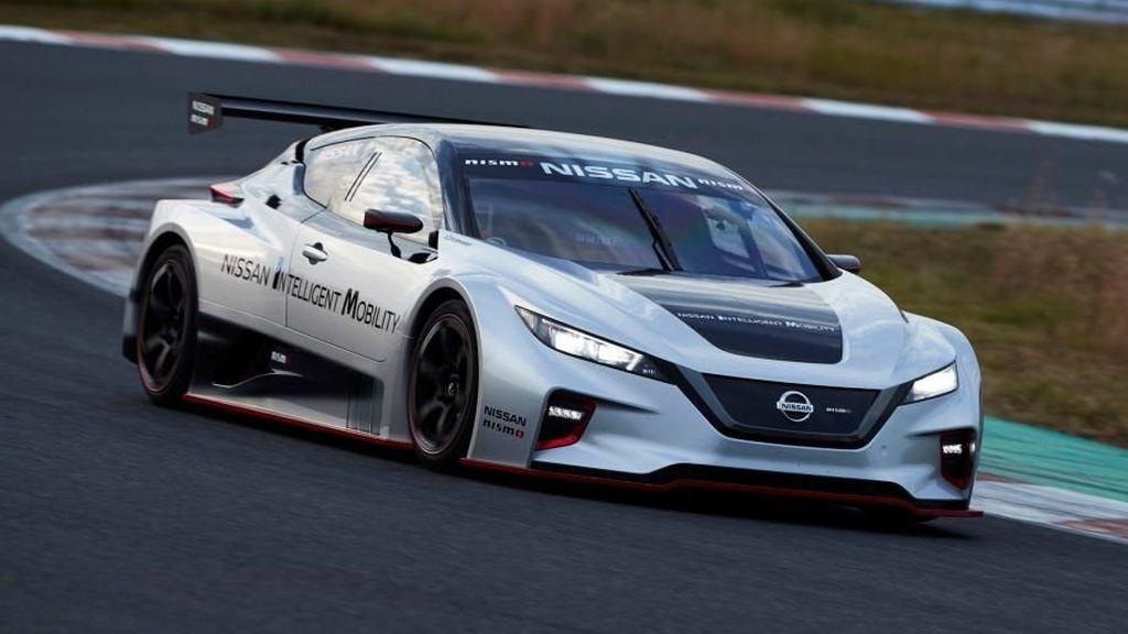 Mobil Balap Listrik Nissan Keren Abis!