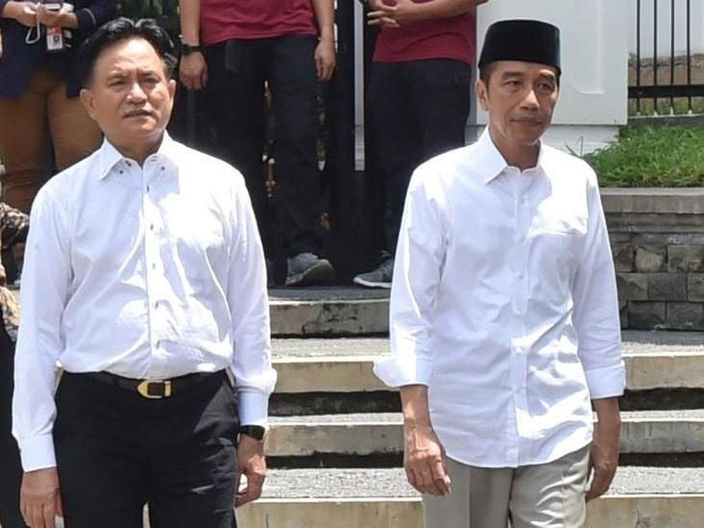 Kejutan November 2018, Yusril Move On dari Prabowo ke Jokowi