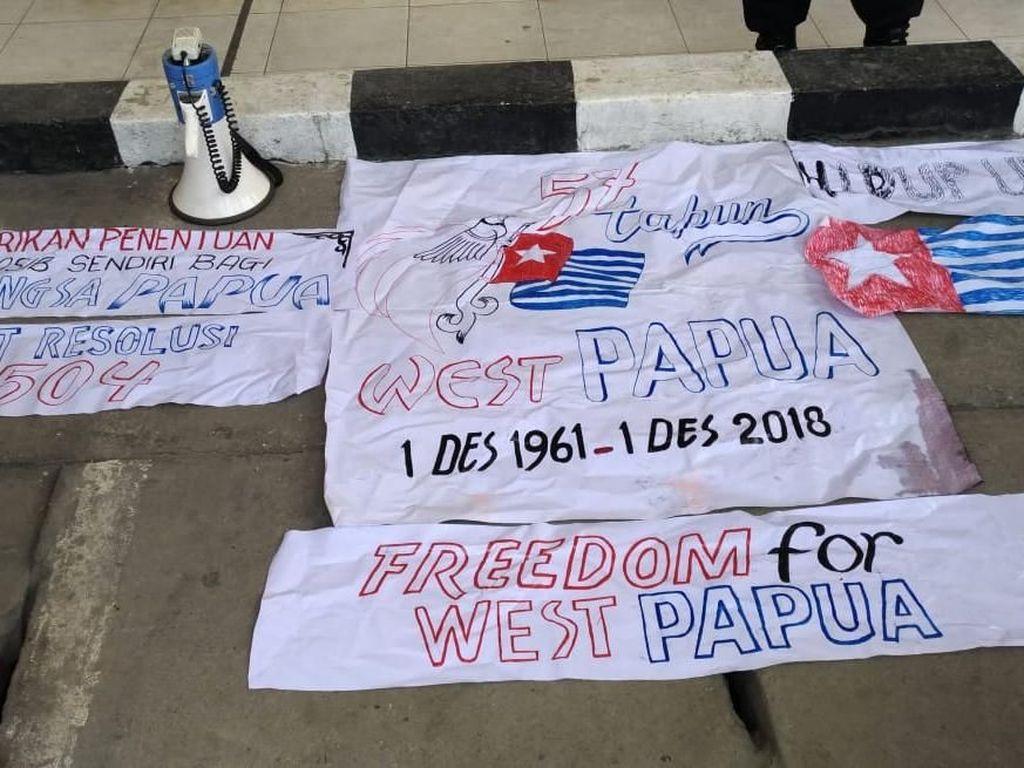 Polisi Amankan 39 Orang Kelompok Komite Nasional Papua Barat
