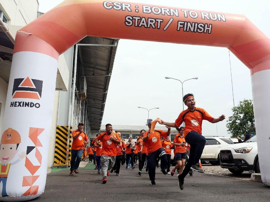 Hexindo Gelar 30RN To Run