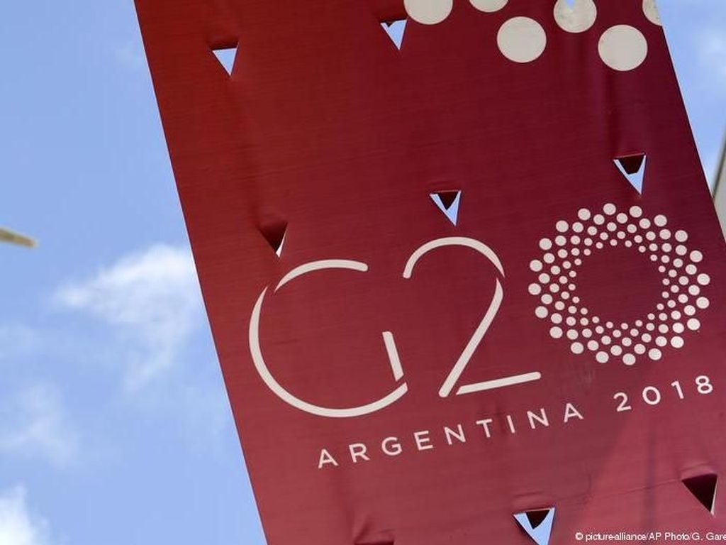 Pemimpin G20 Berdatangan di Argentina, Angela Merkel Tertahan di Bonn