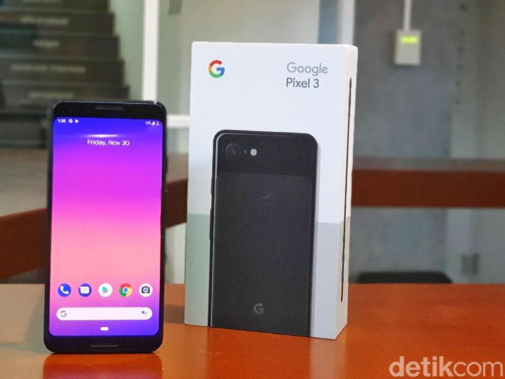 Berapa Harga Google Pixel 3a?