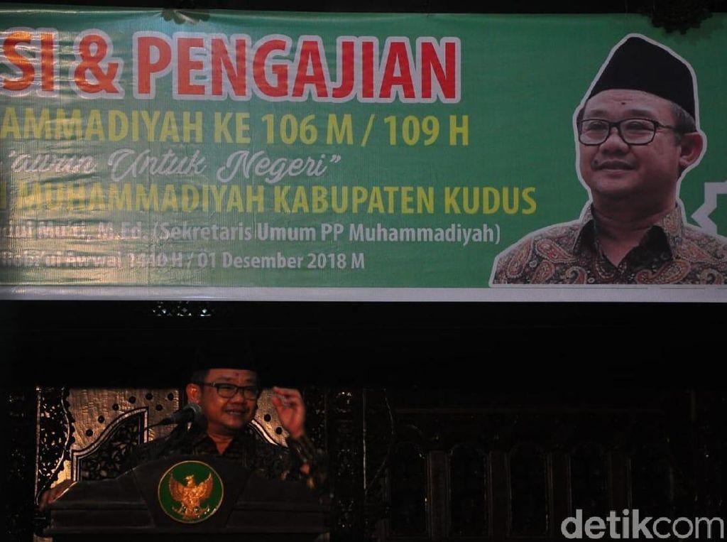 Dituding Intervensi Muktamar, Abdul Muti: Info Pak Amien Tak Akurat