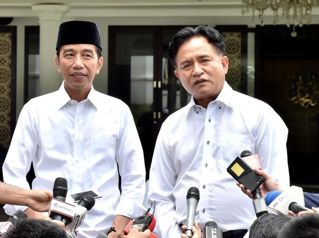 Jawab Kritik Mahfud Md, Yusril Ungkit Penentuan Cawapres Jokowi
