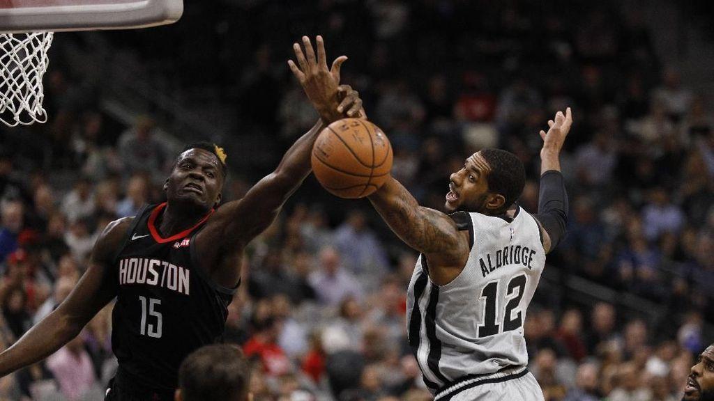 Hasil NBA: Rockets Perpanjang Tren Buruk Spurs