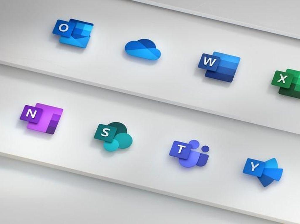 Microsoft Segarkan Ikon Office