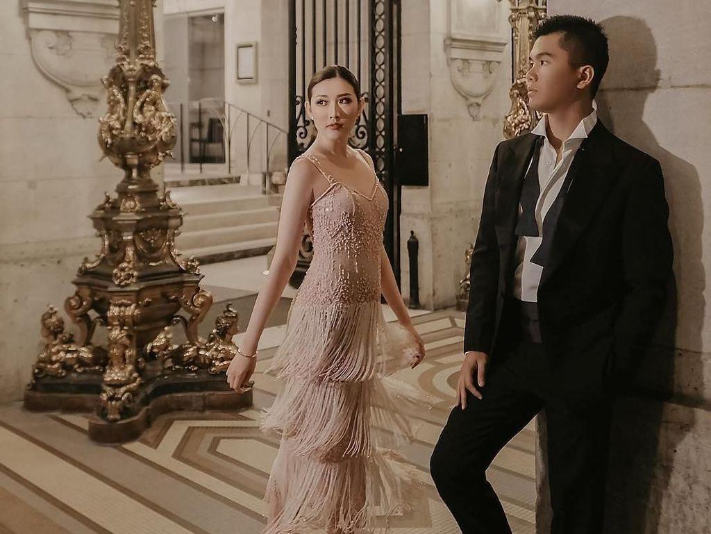 Prewedding di Eropa, Jusup-Clarissa Pilih Tempat di Eiffel hingga Kastil Tua