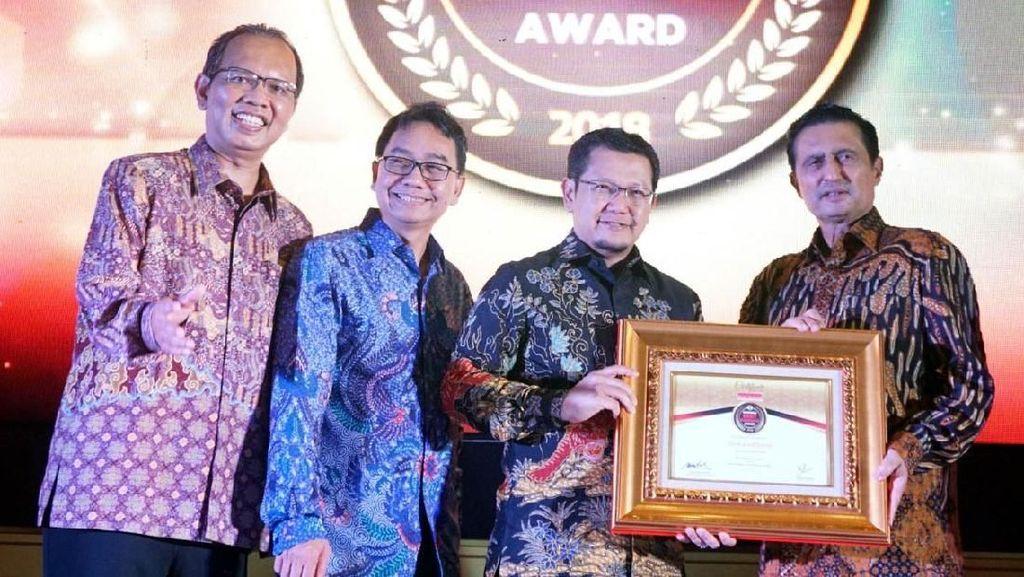 Penghargaan Indonesia Best Banking Award 2018