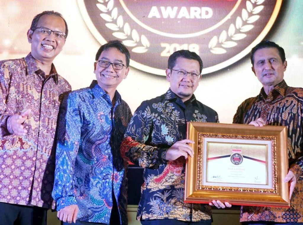 Penghargaan Indonesia Best Banking Award 2018