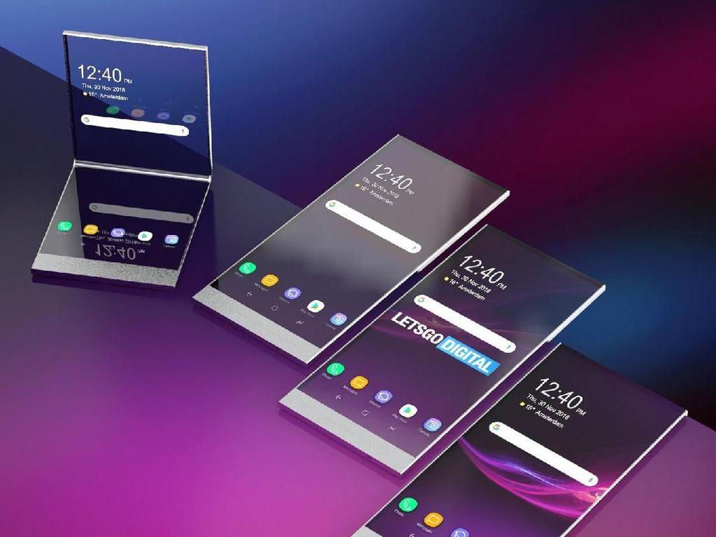 Ponsel Layar Lipat Sony Meluncur Tahun Depan?
