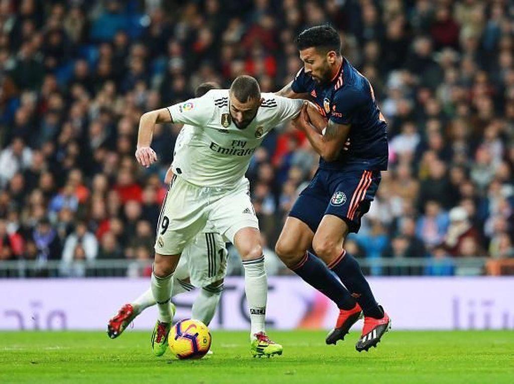 Valencia yang Tangguh Jadi Ujian Sesungguhnya Zidane