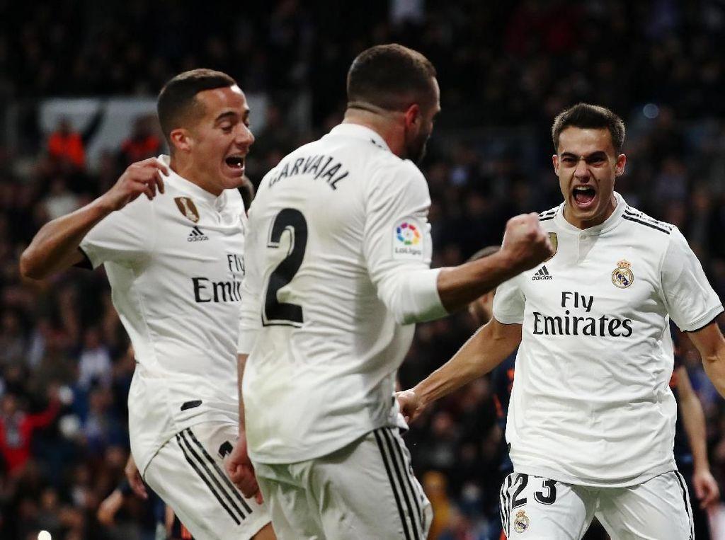 Bungkam Valencia, Real Madrid Mulai Kejar Sevilla dan Barcelona