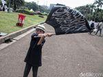 Potret Anak-anak yang Sengaja Diajak ke Reuni Akbar Mujahid 212