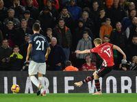 Babak I, Keunggulan Dua Gol Southampton Bisa Dikejar MU