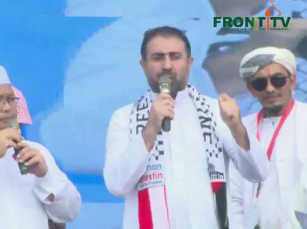 Ulama Palestina ke Massa Reuni 212: Al Aqsa Menunggu Peran Kalian