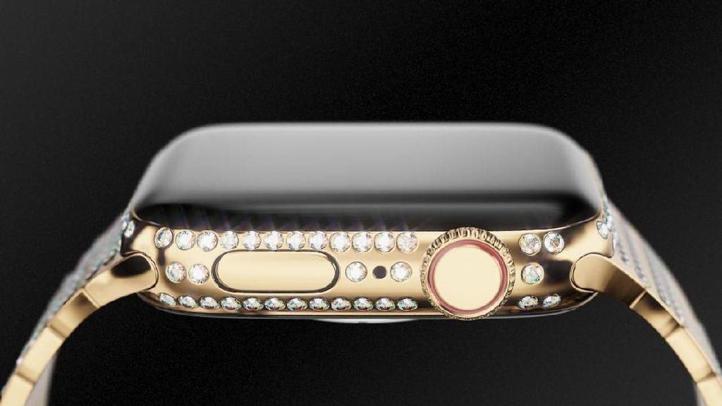 Bertabur Berlian, Apple Watch 4 Ini Dibanderol Rp 630 Juta!