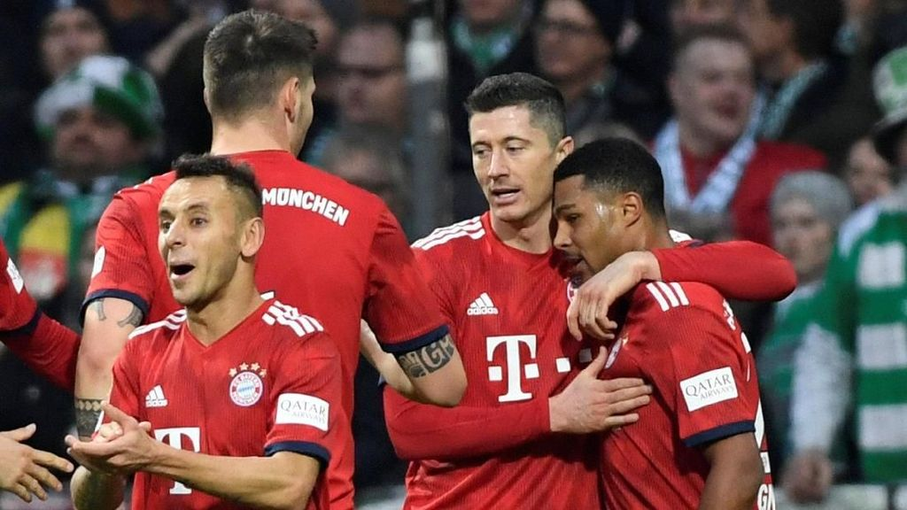 Video Dua Gol Gnabry Menangkan Bayern Munich