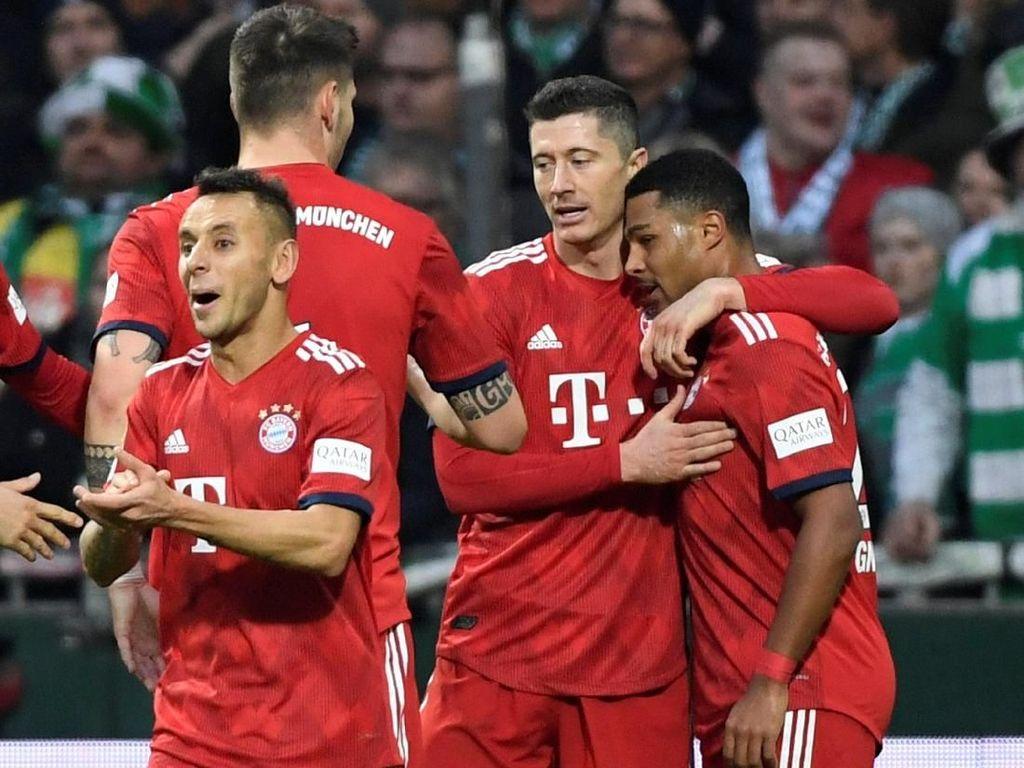 Video Dua Gol Gnabry Menangkan Bayern Munich
