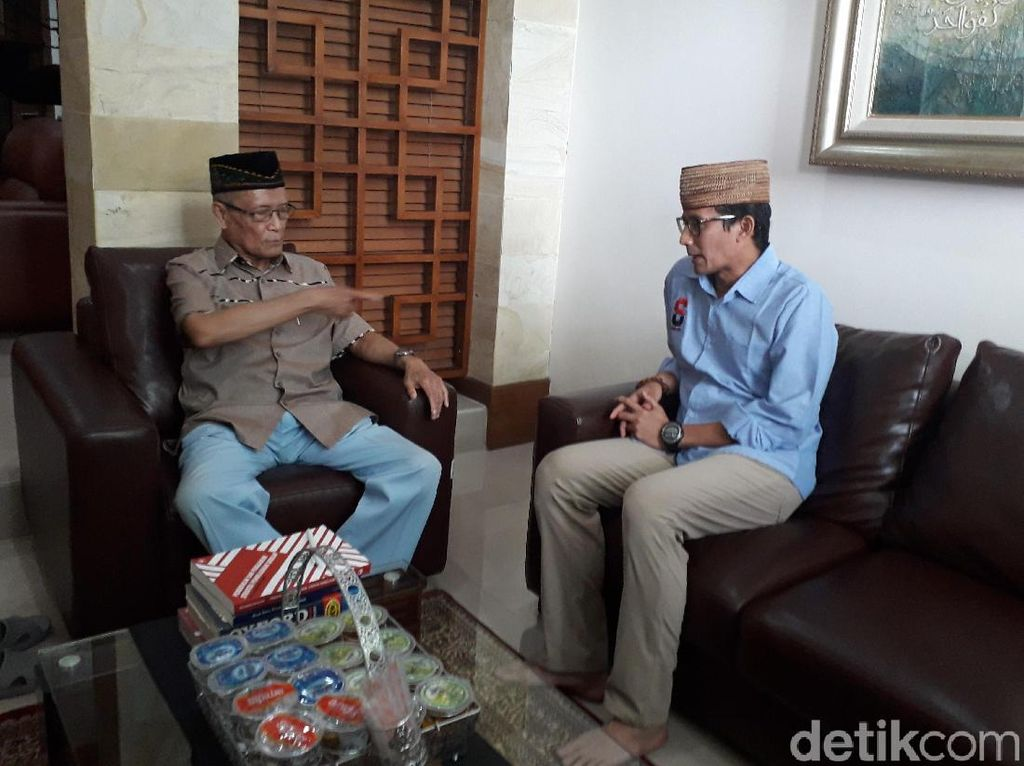 Cerita Kedekatan Buya Syafii dengan Prabowo Subianto