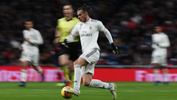Real Madrid mendapatkan perlawanan sengit dari Valencia.