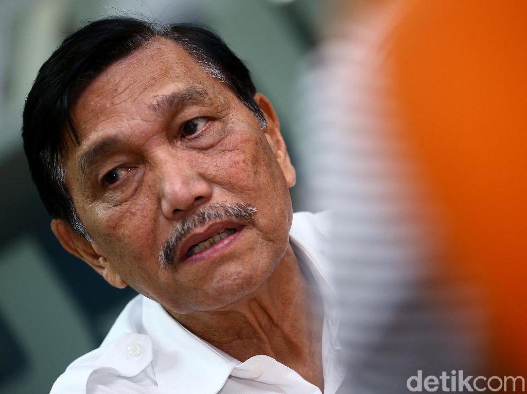 Titah Jokowi ke Luhut: Tekan COVID-19 di 9 Provinsi