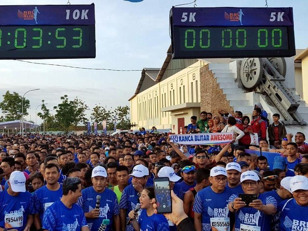 10.000 Pelari Ramaikan BRI RUN 2018 Solo Series