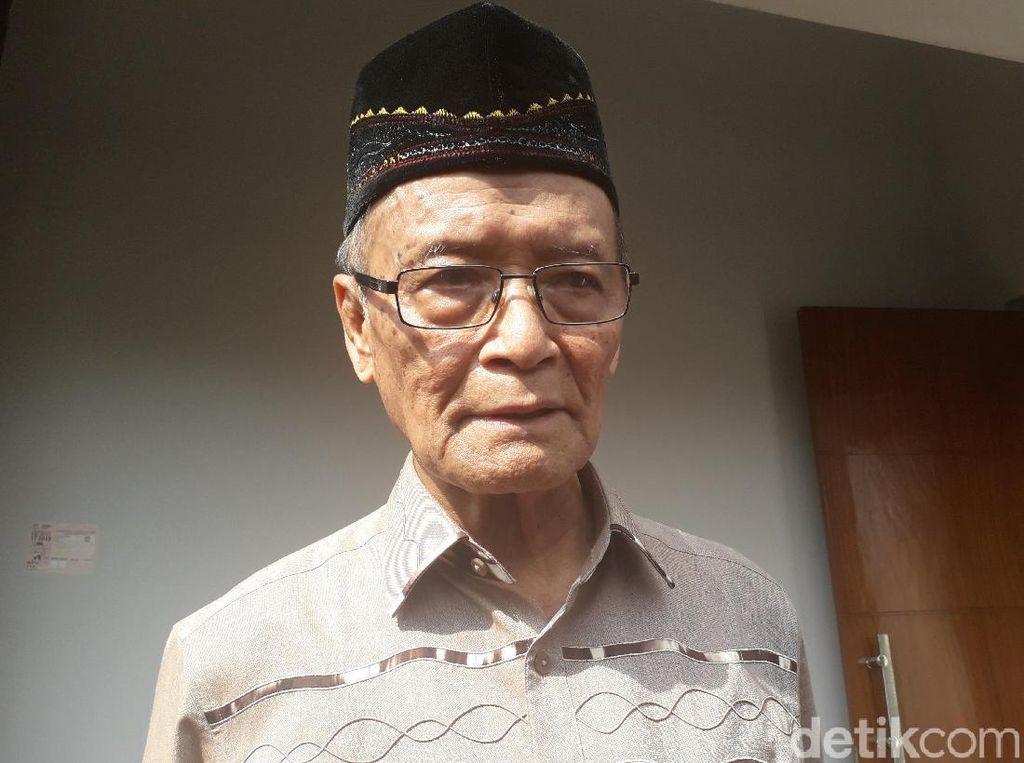 Buya Syafii Nilai Penegakan HAM Lemah di Masa Jokowi