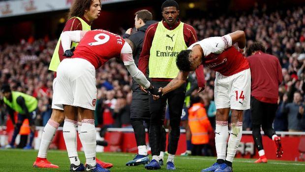 Arsenal tak terkalahkan dalam 19 laga terakhir yang mereka mainkan.