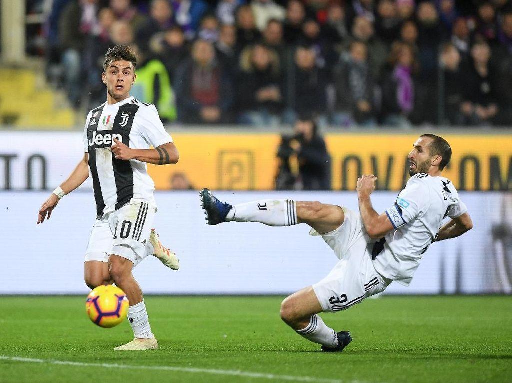 Gol Chiellini Lepas Ketegangan Juventus