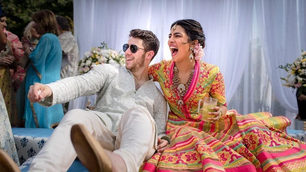 Seru Banget! Begini Kemeriahan Nikahan Priyanka Chopra-Nick Jonas