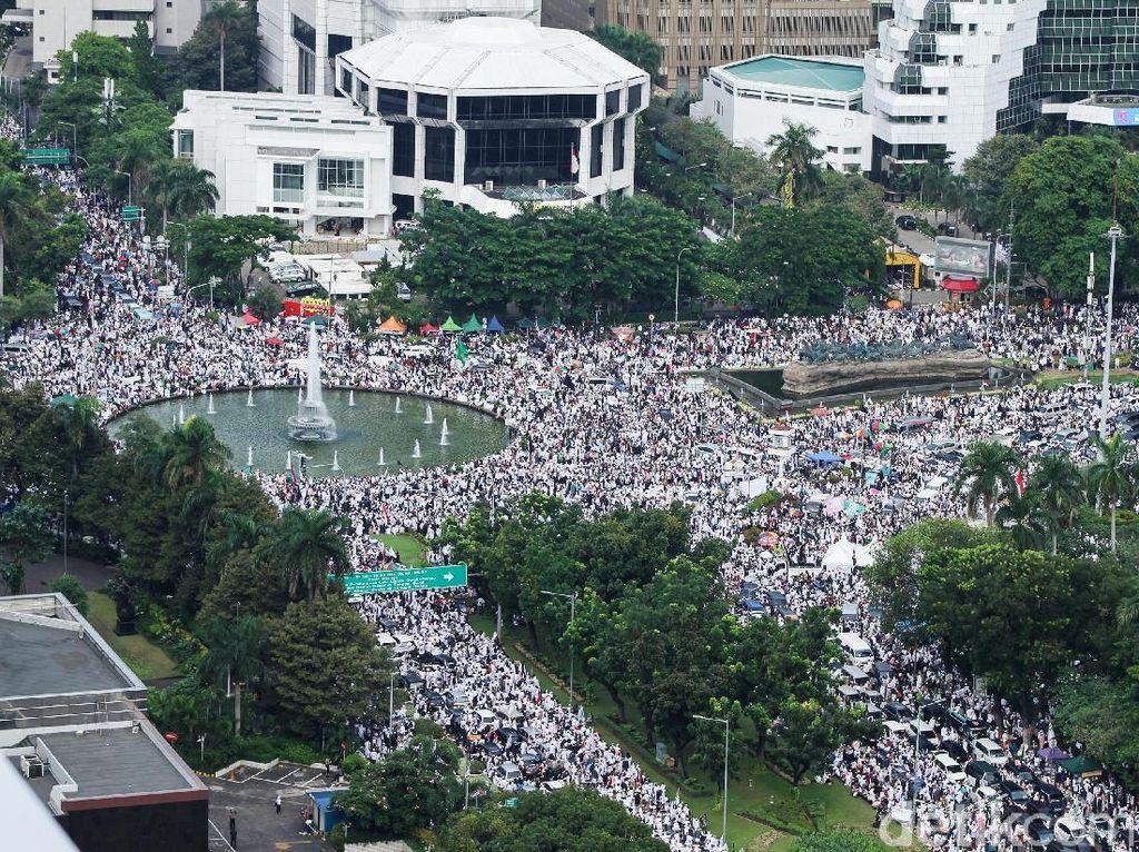 PDIP Sindir PKS: Masa Aksi di Istana Jadi Program Kampanye?