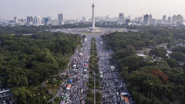 Timses Jokowi Yakin Seruan Rizieq Tak Berpengaruh ke Pilpres