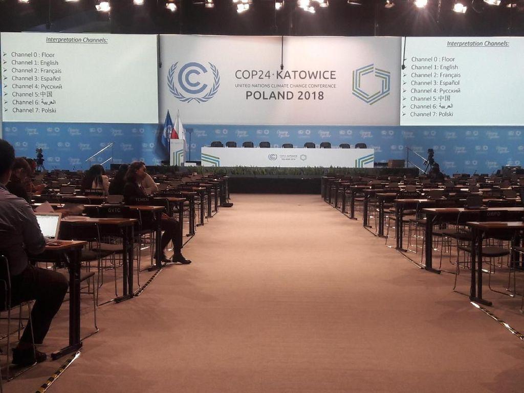 Di COP24, Indonesia Perjuangkan Posisi dalam Perubahan Iklim