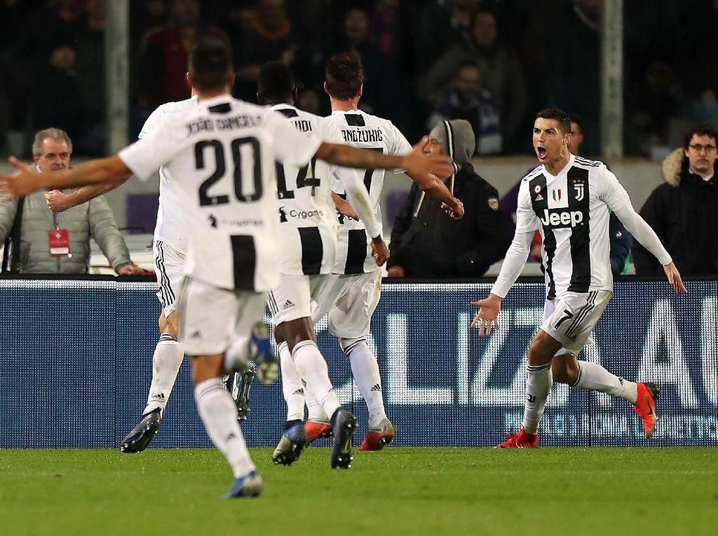 Hantam Fiorentina, Juventus Bikin Sejarah Baru di Serie A