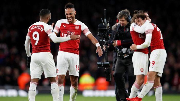 Arsenal akan tandang ke markas Manchester United di Liga Inggris tengah pekan ini (Foto: David Klein/Reuters)
