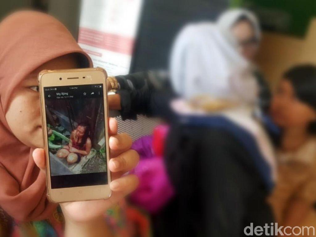 Berbalut Handuk Bersimbah Darah, Wanita di Sukabumi Minta Tolong