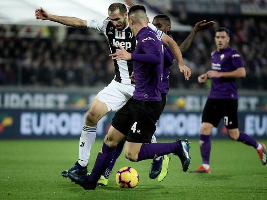 Kalahkan Fiorentina, Juventus Bisa Makin Jauh Tinggalkan Napoli dan Inter