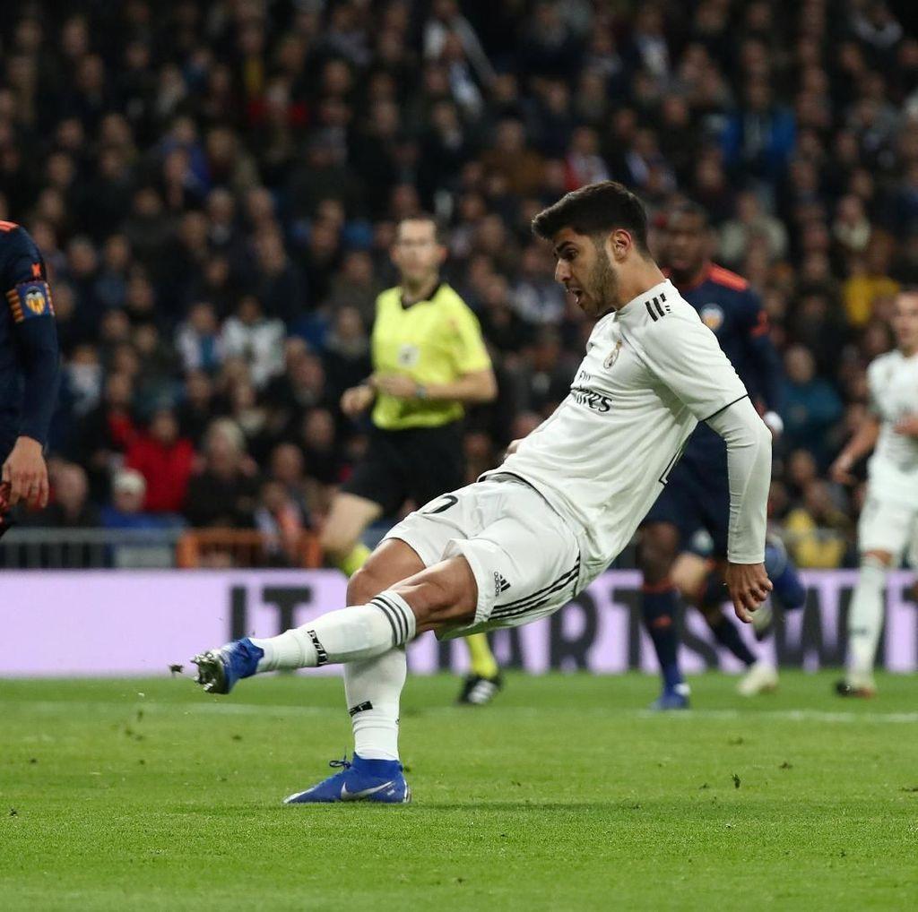 Hasil Liga Spanyol: Madrid Kalahkan Valencia 2-0