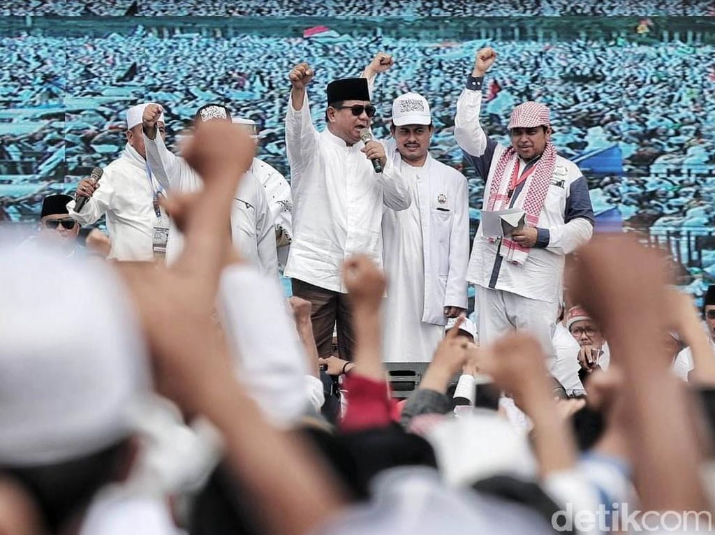 Prabowo Kritik Media Pasca-Reuni 212, PKS: Number Doesnt Matter
