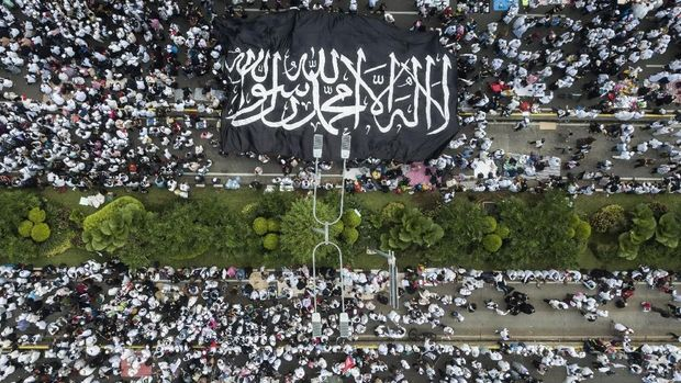 Prabowo Kritik Media, Sebut Aksi Reuni 212 Dihadiri 11 Juta