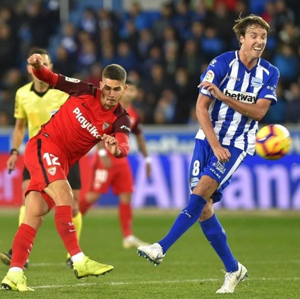 Imbang Lawan Alaves, Sevilla Gagal Puncaki Klasemen La Liga Lagi