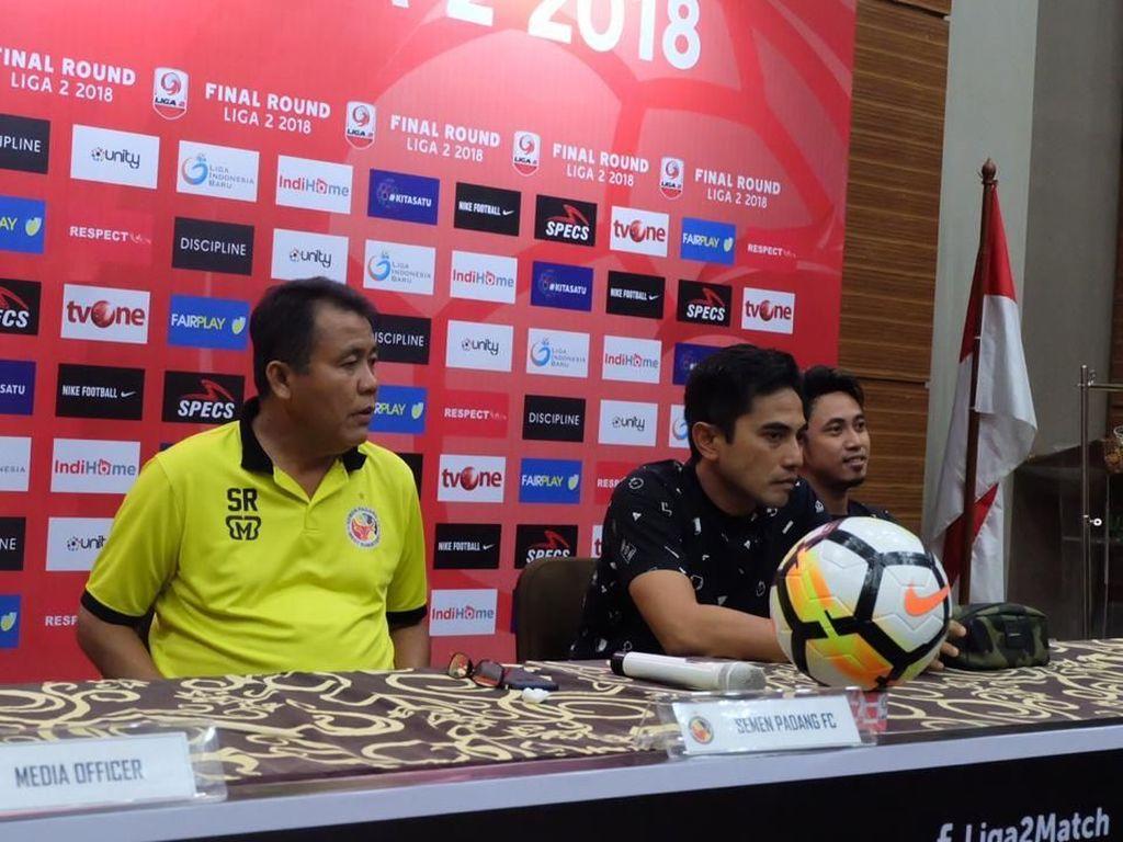 Target ke Liga 1 Tercapai, Semen Padang Juga Buktikan Pantas Juara