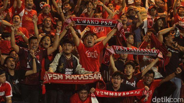 Suporter PSM Makassar