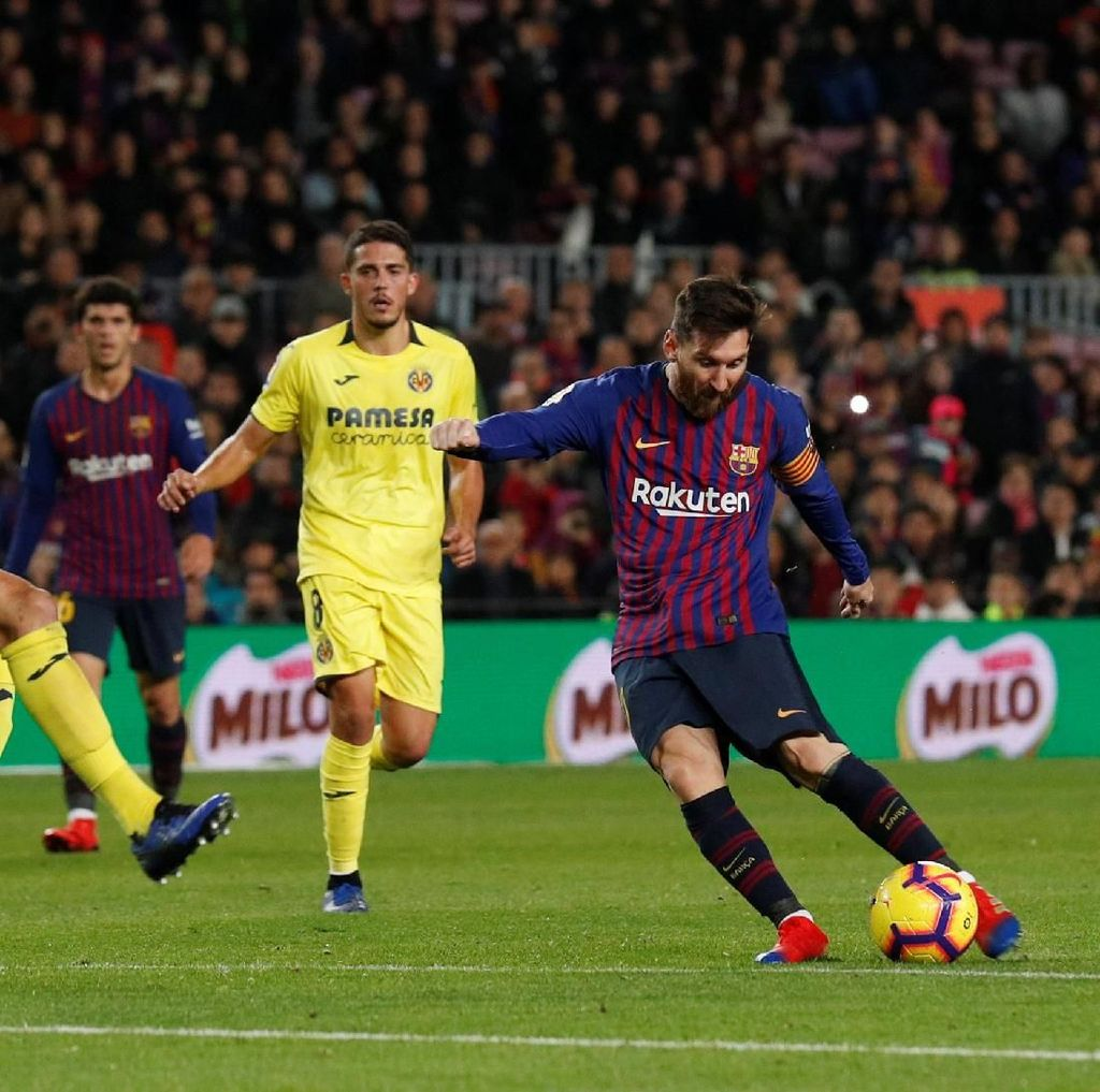 Hasil Liga Spanyol: Barcelona Vs Villarreal Selesai 2-0