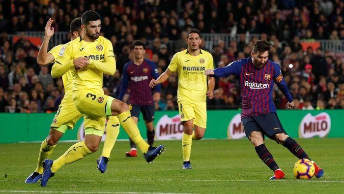 Villarreal bakal bertandang ke markas Barcelona. (Foto: Albert Gea/Reuters)