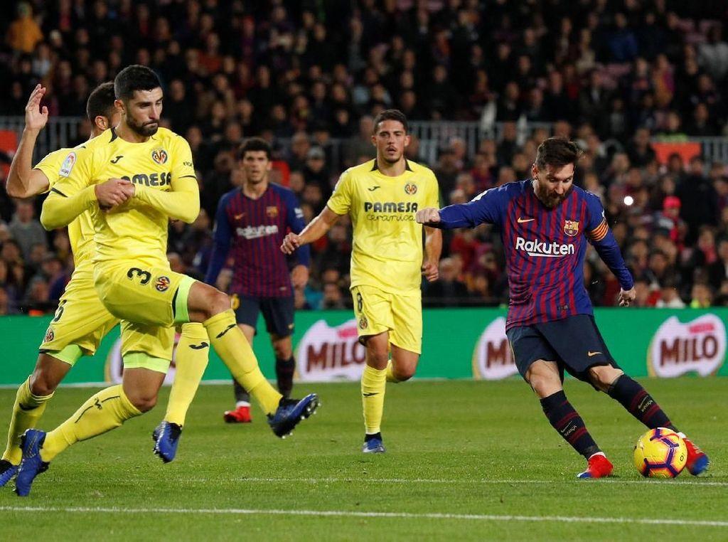 Villarreal Ogah Bertahan Lawan Barca