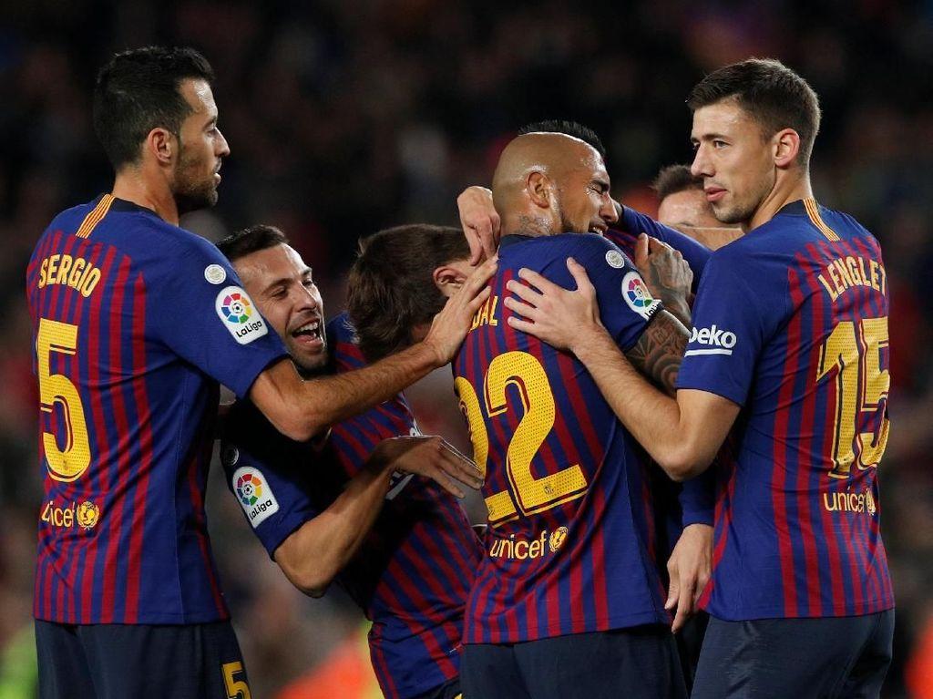 Barcelona Kembali ke Puncak Klasemen